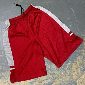 Nike Basketball Shorts Red 522433-648 Dri Fit